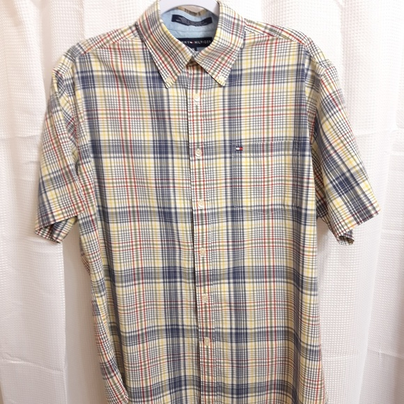 Tommy Hilfiger Other - Tommy Hilfiger Short Sleeve Button Down Shirt